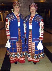 Валентина Копиль и Валентина Навлева