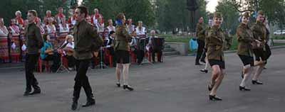 Выступление 9 мая 2010 года